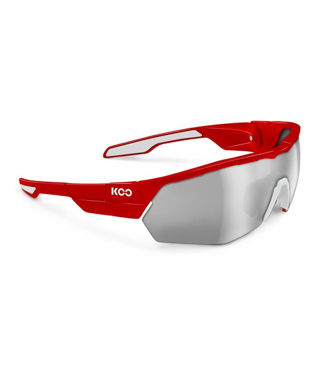 Kask Koo Koo Open Cube Red cycling glasses