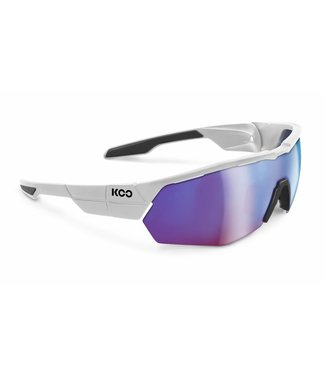 Kask Koo Koo Open Cube White cycling glasses