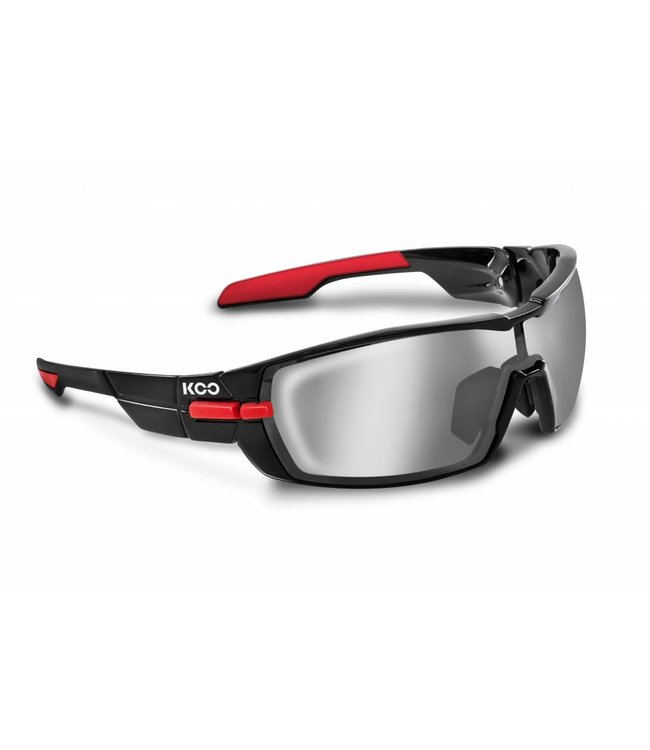 Kask Koo Kask Koo Open Cycling Glasses Black Red