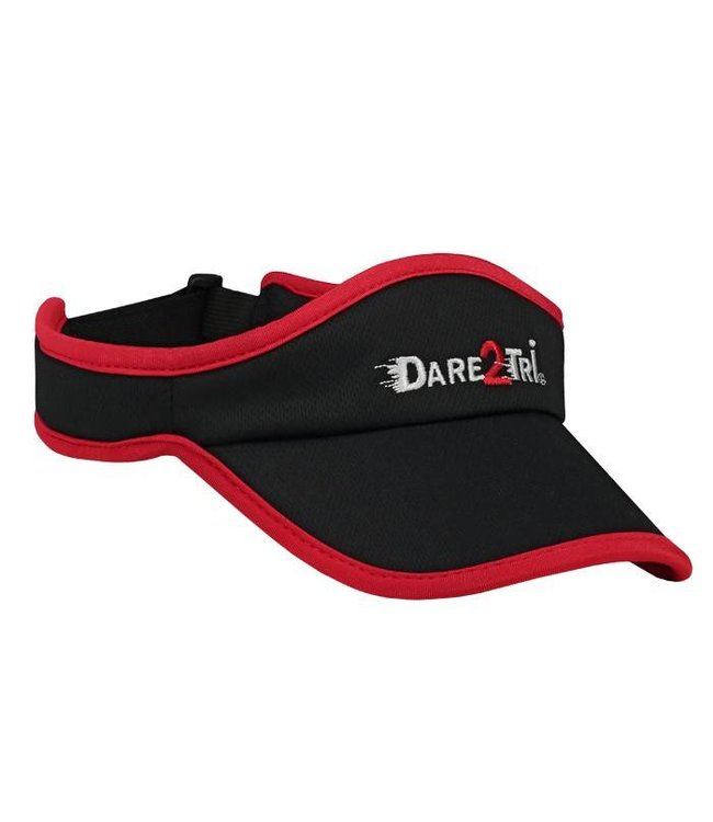 Dare2Tri Dare2Tri Visor Zwart Rood