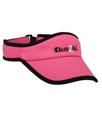Dare2Tri Dare2Tri Visor Roze Zwart