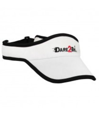 Dare2Tri Dare2Tri Visor White Black