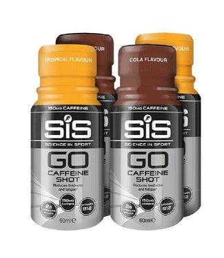 SIS (Science in Sports) SIS Go Caffeine Shot (150 mg de caféine) BUNDLE