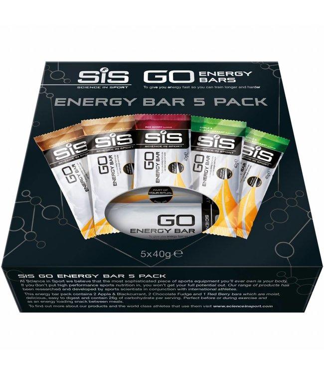 SIS (Science in Sports) Barras de energía SIS Go Energy Variety Pack (5x 40gr)