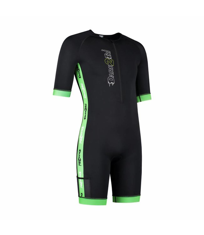 Dare2Tri Dare2Tri Men's Coldmax Trisuit with short sleeves