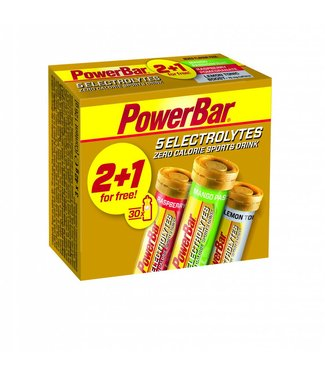 Powerbar Powerbar Electrolyte Tabs Multipack 2+1 gratis