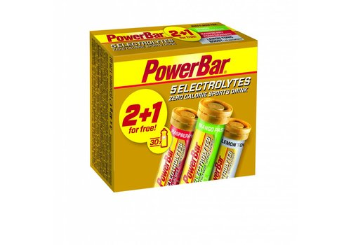 Powerbar Electrolyte Tabs Multipack 2+1 gratis