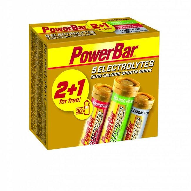 Powerbar Powerbar Electrolyte Tabs Multipack 2 + 1 gratuit
