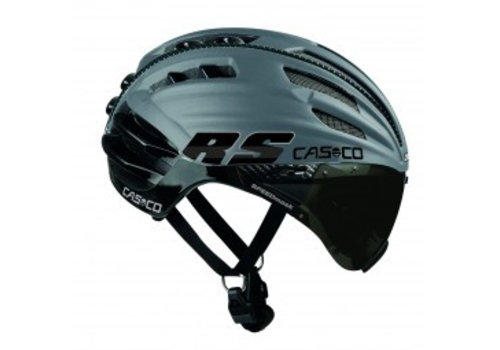 Casco SpeedAiro RS Zwart - Zilver (vautron vizier)