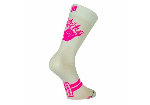 Aloha White Bike Classic Cyclingsocks