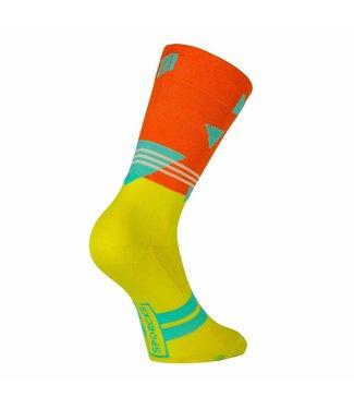 Sporcks Passo rolle Vélo Classique chaussettes de velo Orange