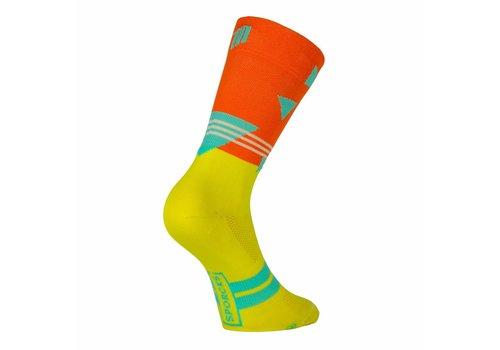 Passo rolle Vélo Classique chaussettes de velo Orange