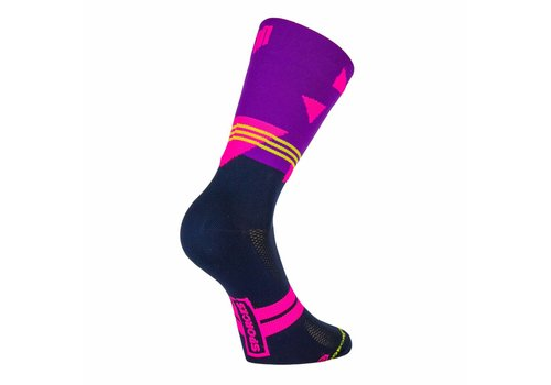Passo rolle Bike Classic Cycling Socks Purple