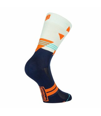 Sporcks Chaussettes Passo rolle Bike Classic Blanches