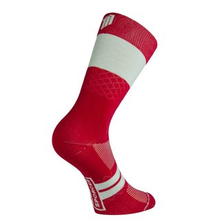 Sporcks Marie Blanque Wine Pro Elite Cycling Socks