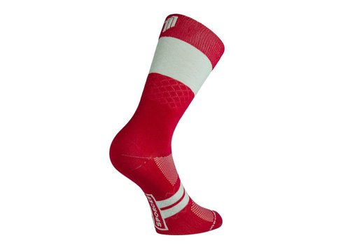 Marie Blanque Wine Pro Elite Cycling Socks