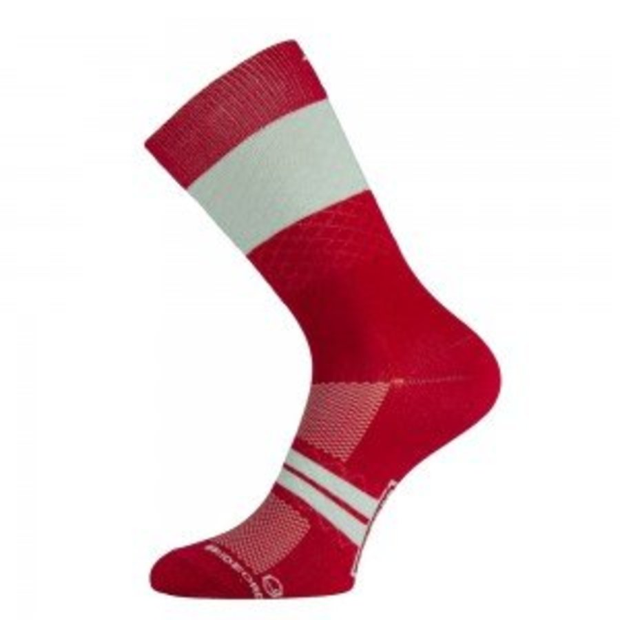 Marie Blanque Wine Pro Elite Cycling Socks-3