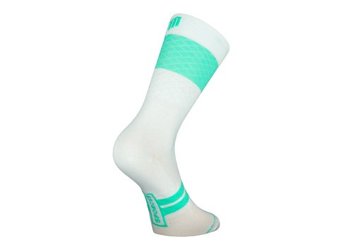 Marie Blanque Pro Elite Cycling Socks White