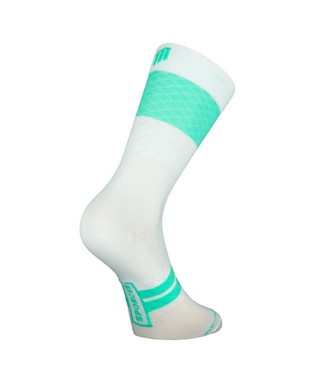 Sporcks Marie Blanque Pro Elite Cycling Socks White