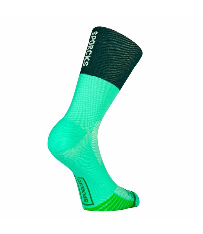 Sporcks Sporcks Cooper river Green Runningsocks