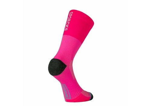 Sporcks Cooper river Running socks Fluo Pink