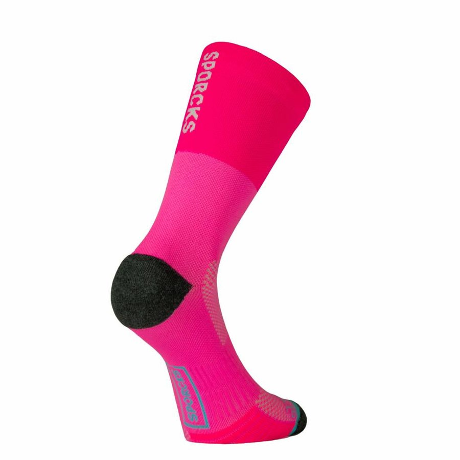 Sporcks Cooper river Chaussettes de running Fluo Pink