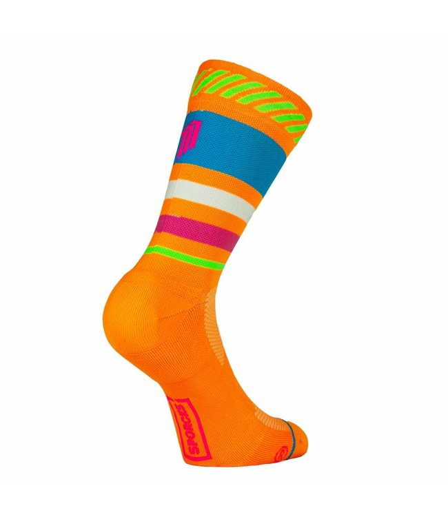 Sporcks Sporcks Lima Limon Orange Running Socks