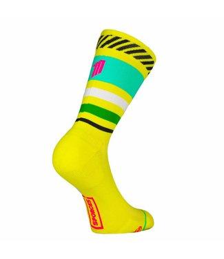 Sporcks Sporcks Lima Limon Yellow Running socks
