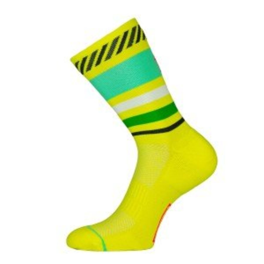 Sporks Lima Limon Yellow Running socks-5