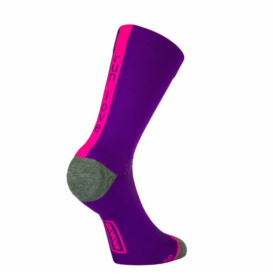 Run Love Runningsocks Pink-1