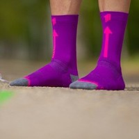 thumb-Run Love Runningsocks Pink-3