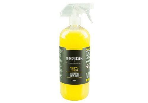 Crankalicious Pineapple Express Spray Bike Cleaner (1l)