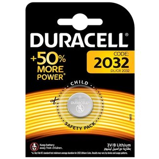 Duracell Pile bouton duracell 2032 (3v)