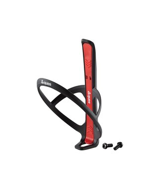 GUEE Guee Qing Carbon bottle cage + 2x tire lever red