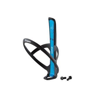 GUEE Guee Qing Carbon bidonhouder +2x  bandenlichter blauw