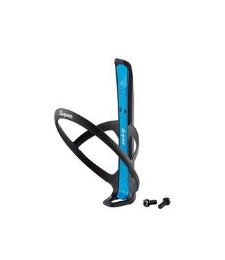 GUEE Guee Qing Carbon Flaschenhalter + 2x Reifenheber blau