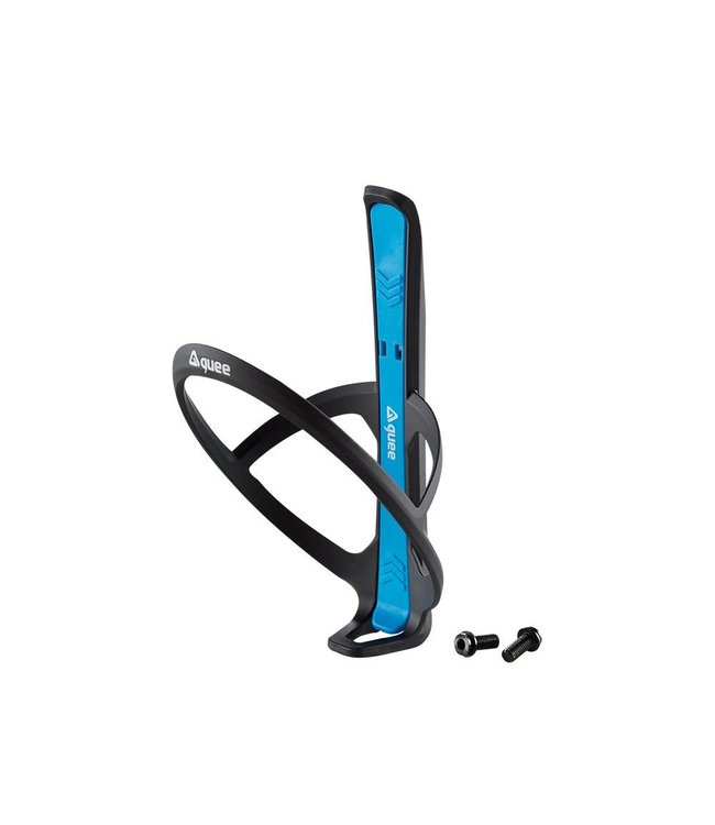 GUEE Guee Qing Carbon bottle cage + 2x tire lever blue