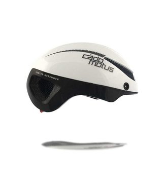Cádomotus Omega Aerospeed bicycle helmet White