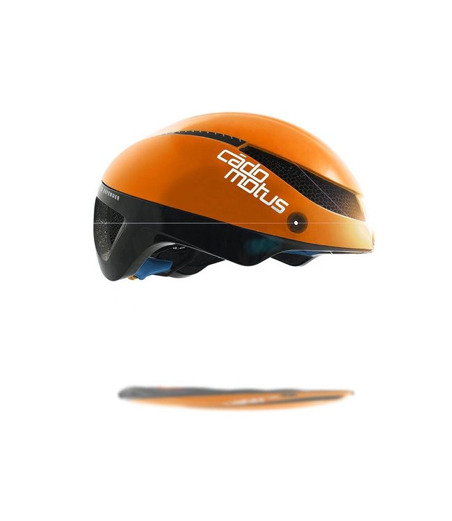 Cádomotus Casque de vélo Omega Aerospeed Orange