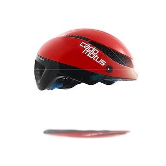 Cádomotus Omega Aerospeed fietshelm Rood