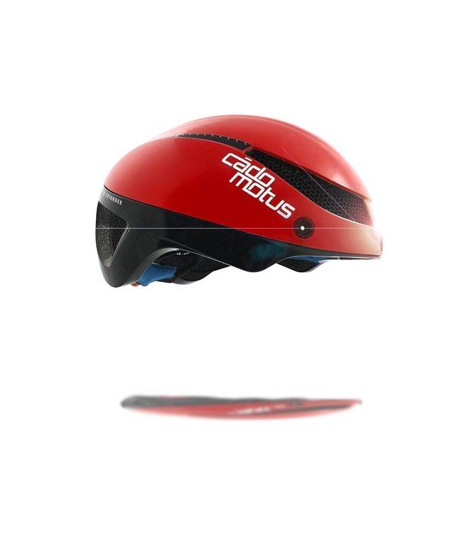 Cádomotus Casco de ciclismo Omega Aerospeed Rojo