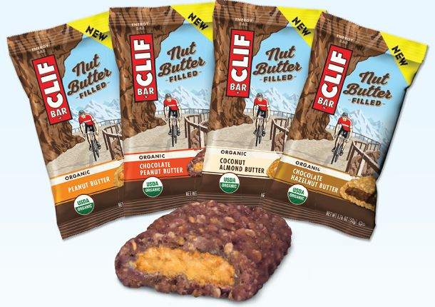 Clifbar Nut Filled Butter Energybar - a new range of energybars
