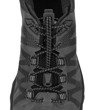 Lock Laces Nathan Run Laces Black