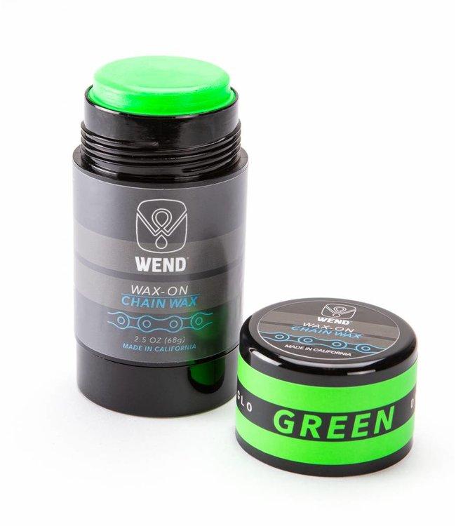 Wend Waxworks Wend Wax-on Twist up Green (80ml)