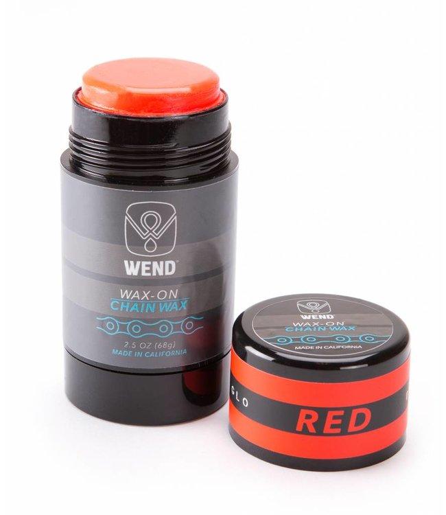 Wend Waxworks Wend Wax-on Twist up Rood (80ml)