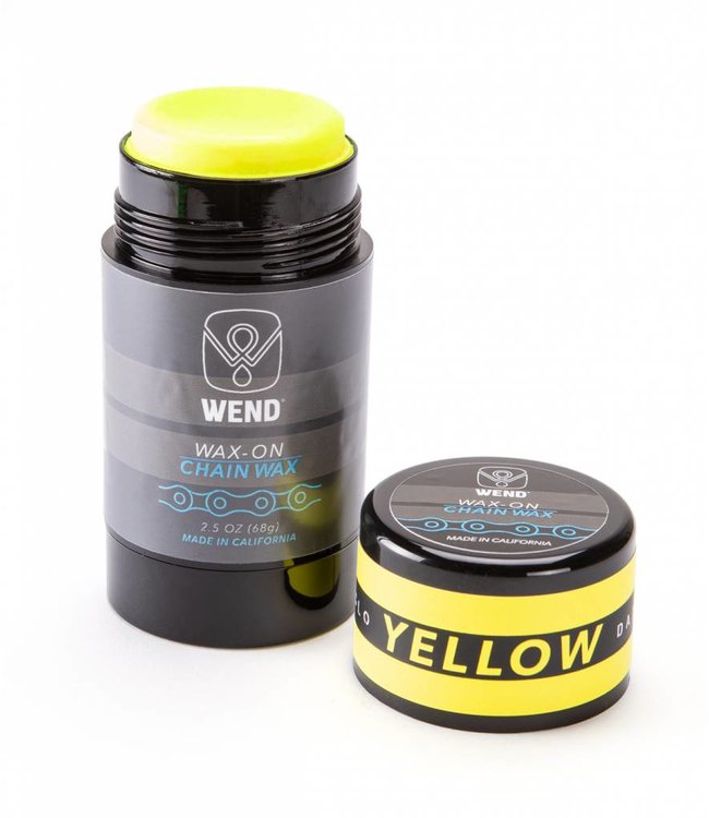 Wend Waxworks Wend Wax-on Twist up Yellow (80ml)