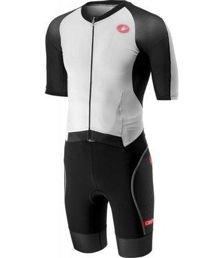 Castelli Castelli All Out Speedsuit Schwarz / Weiß