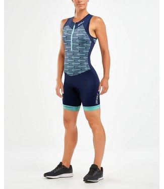 2XU 2XU Active Trisuit Damen Blau