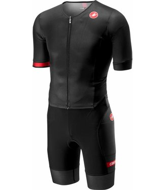 Castelli Castelli Free Sanremo Suit Short Sleeves Black