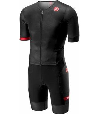 Castelli Castelli Free Sanremo Suit Short Sleeves Black